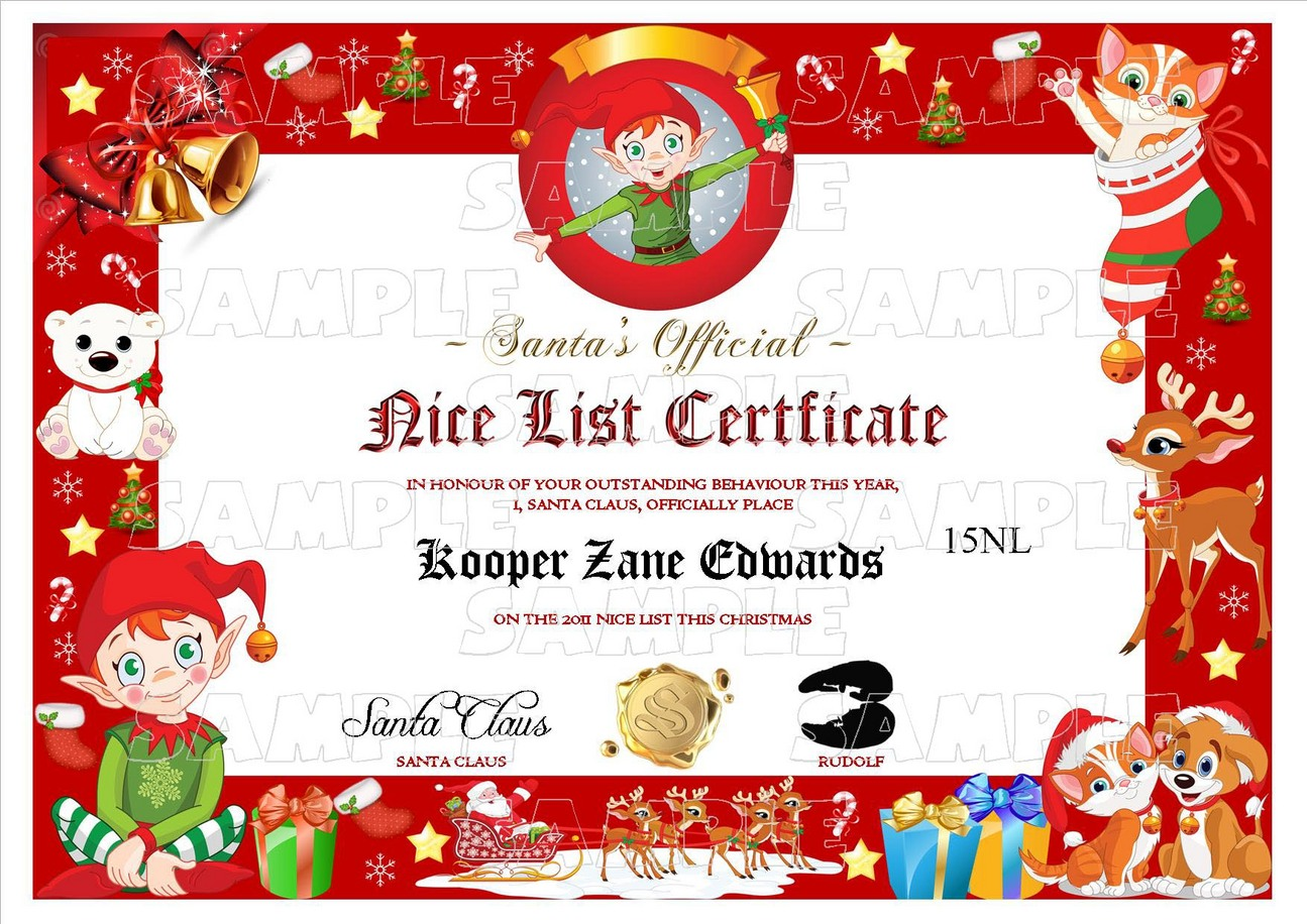 Santa Claus List Template Business Invoice Template Financial 15 Nice List  Santa Claus List Templatehtml
